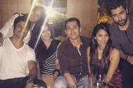 Ex-lovers Roopal and Ankit party together