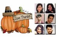 #HappyThanksgiving: TV actors