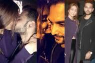 love birds Karan -Anusha caught KISSING