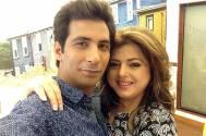 Delnaaz Irani with percy Karkeria