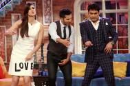 Kriti Sanon and Varun Dhawan with Kapil Sharma