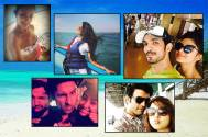Find out where TV celebs are HOLIDAYING this New Year
