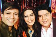 Vivek Oberoi, Sonali Bendre and Sajid Khan