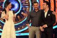 Pulkit Samrat and Divya Khosla Kumar with Salman Khan