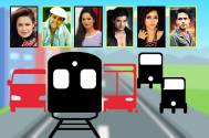 Last time when TV actors travelled by public transport