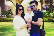 Arjun Bijlani with his family