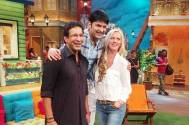 Wasim Akram proposes to wife on TV