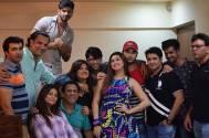 YHM and Bahu Hamari Rajni_Kant team parties together