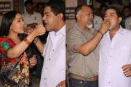 Ashiesh Roy's surprise 'birthday' party on the sets of Mere Angne Mein