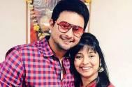 Swwapnil Joshi with his wife Leena