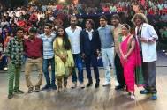 Team Sairat on The Kapil Sharma Show