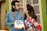 Karan V Grover and Ridhima Pandit