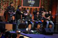 Ali Fazal composes song on the set of The Kapil Sharma Show