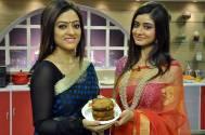 Sriparna Roy turns chef in Aakash Aath