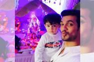 Arjun Bijlani with his son Ayaan