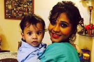 Actress Amrapali enjoying motherhood