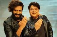 Riteish Deshmukh and Sajid Khan