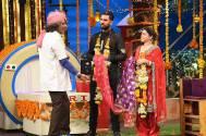 Sumona Chakravarti 'marries' Yuvraj Singh on TV show