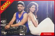 Karishma Tanna and choreographer Rajit Dev