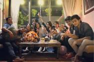 Shweta Tiwari celebrates birthday with Begusarai cast