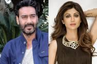 Ajay Devgn and Shilpa Shetty
