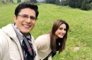 Vishal Singh and Hina Khan