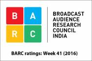 BARC ratings: Week 41 (2016)