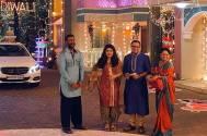 Ajay Devgn on the sets of SAB TV