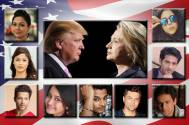 Hillary or Trump: TV celebs take their pick