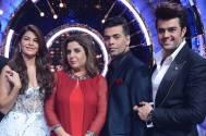 Farah Khan, Karan Johar, Jacqueline Fernandes and Manish Paul
