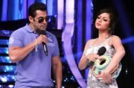 Salman Khan and Drashti Dhami