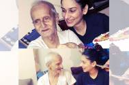 Aneri Vajani's grandfather passes away