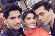 Sidharth and Jacqueline set fire to the 'Koffee couch'!