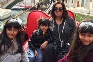 Farah Khan with kids