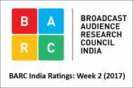 BARC India Ratings: Week 2 (2017)