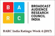 BARC India Ratings: Week 4 (2017)