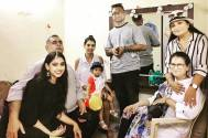 Niti Taylor surprised by her parents
