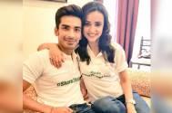 Sanaya Irani and Mohit Sehgal