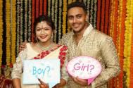 Pushkar and Pooja Sharma's baby shower
