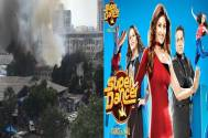 Fire at RK Studios, 'Super Dancer...' set burnt