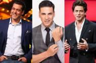 Salman, Akshay: SRK