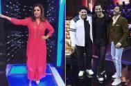 Farah Khan surprises Akshay, Sajid Khan on show's set