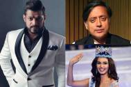 Karan Patel, Shashi Tharoor, Manushi Chhillar