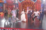 Nora Fatehi flaunts her dance moves on Entertainment Ki Raat