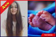 Revealed: First picture of Somya Seth's newborn baby