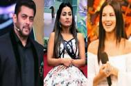 Salman Khan, Hina Khan, Sunny Leone