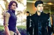 Karanvir Bohra & Harshvardhan on the set of India's Next Superstars