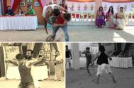 Ayyaz Ahmad fights with real wrestlers in Agniphera
