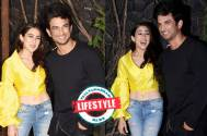 Sushant Singh Rajput and Sara Ali Khan