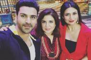 Divyanka Tripathi, Vivek Dahiya, and Farah Khan